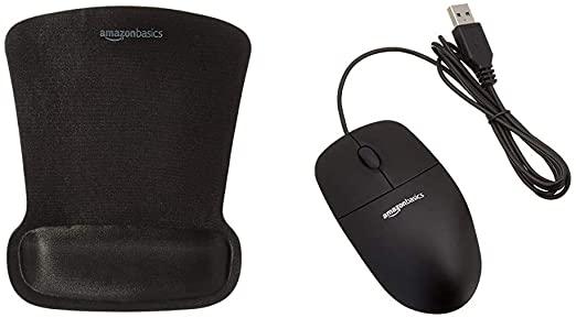 Mouse + Tappetino AmazonBasics
