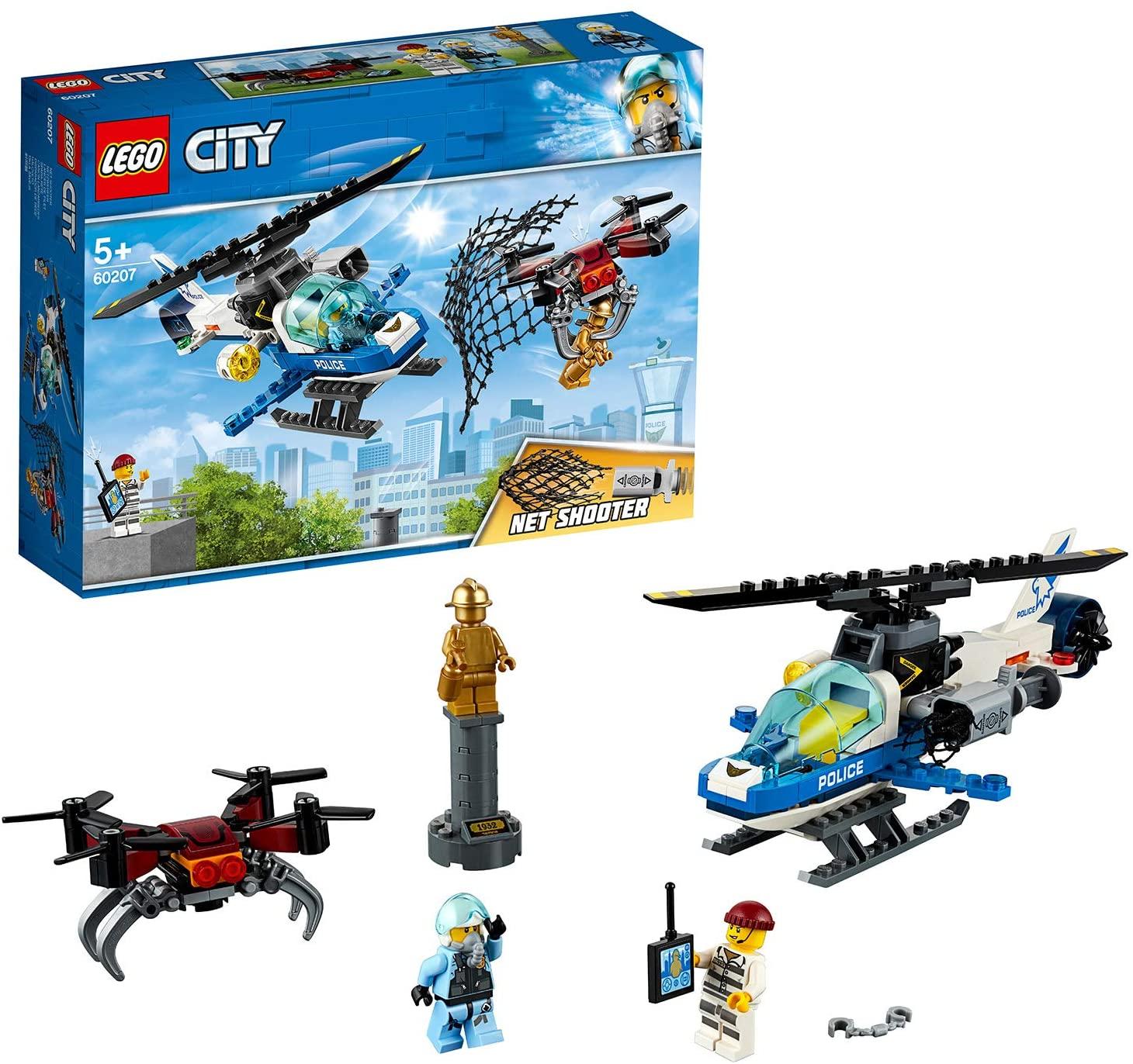 LEGO City - Polizia aerea all'inseguimento del drone