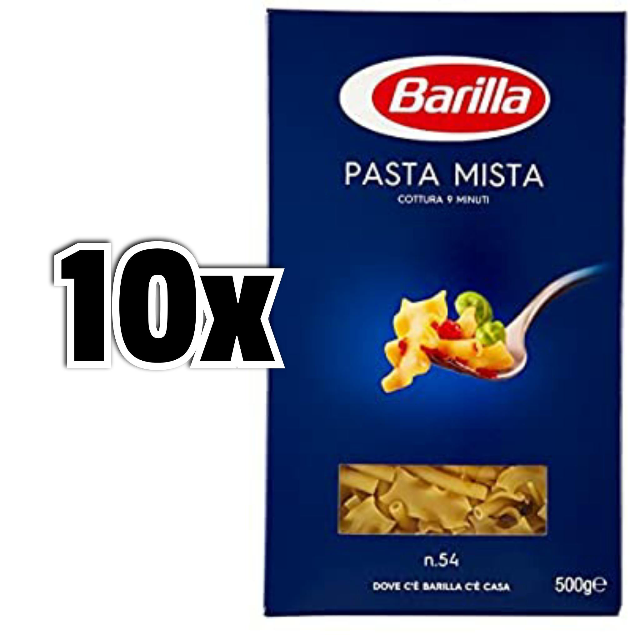 10x500gr Barilla - Pasta Mista n.54