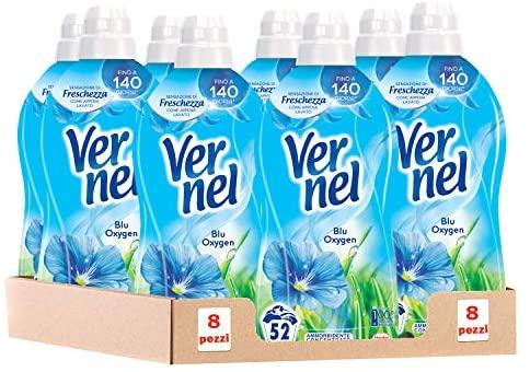 8x 52 lavaggi diVernel Blu Oxygen Ammorbidente Concentrato Profumato MAXI FORMATO