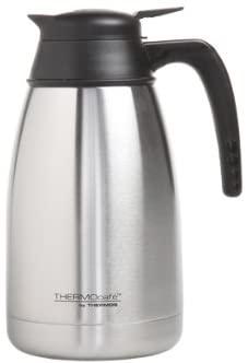 ThermoCafe - Caraffa in Acciaio Inox a Doppia Parete, 1500 ml