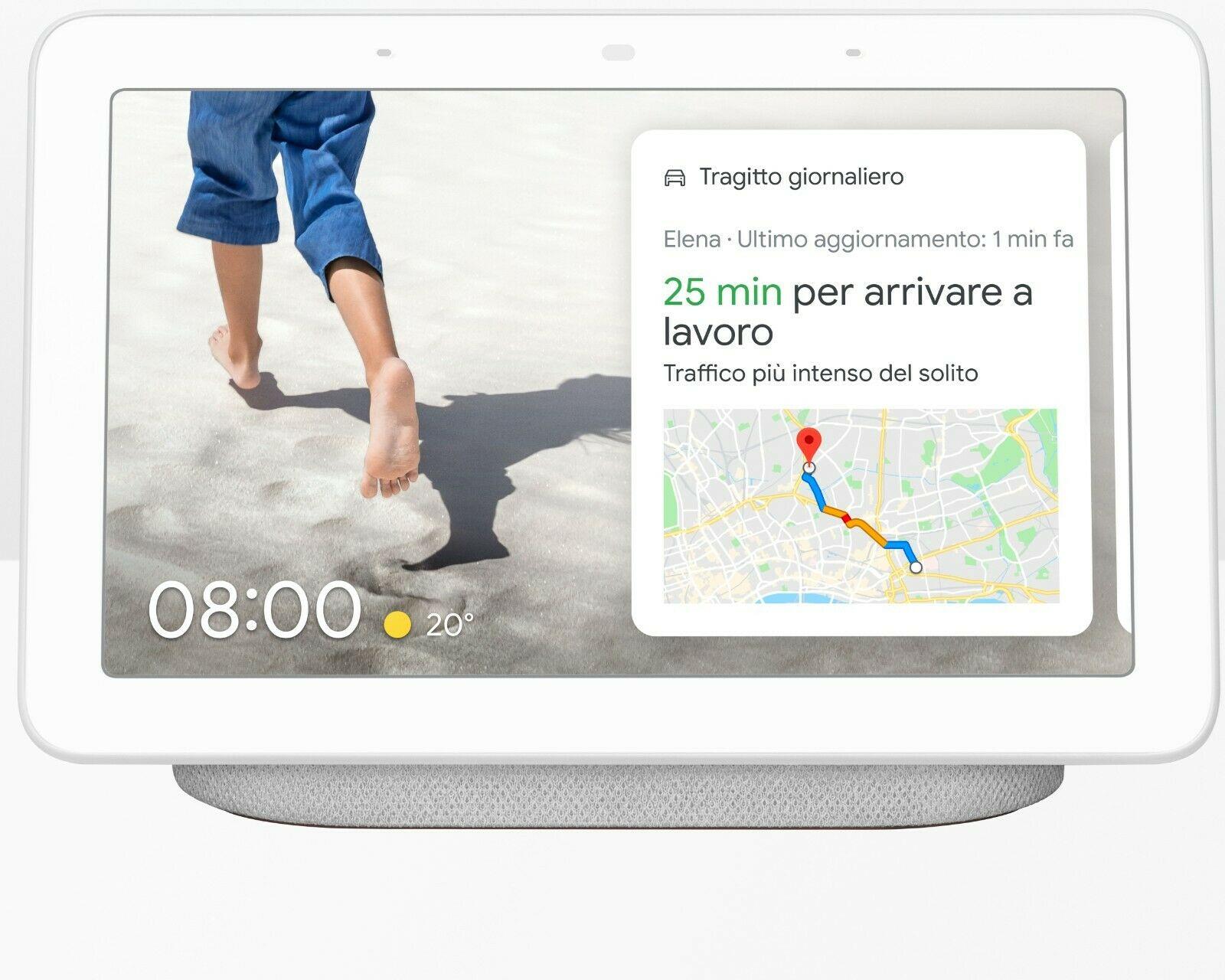 Google Nest Hub Bianco
