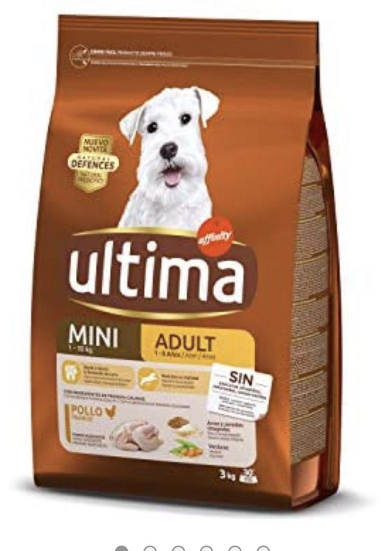 Ultima Cibo per Cani Mini Adult con Pollo, 3 kg, 3000 unità