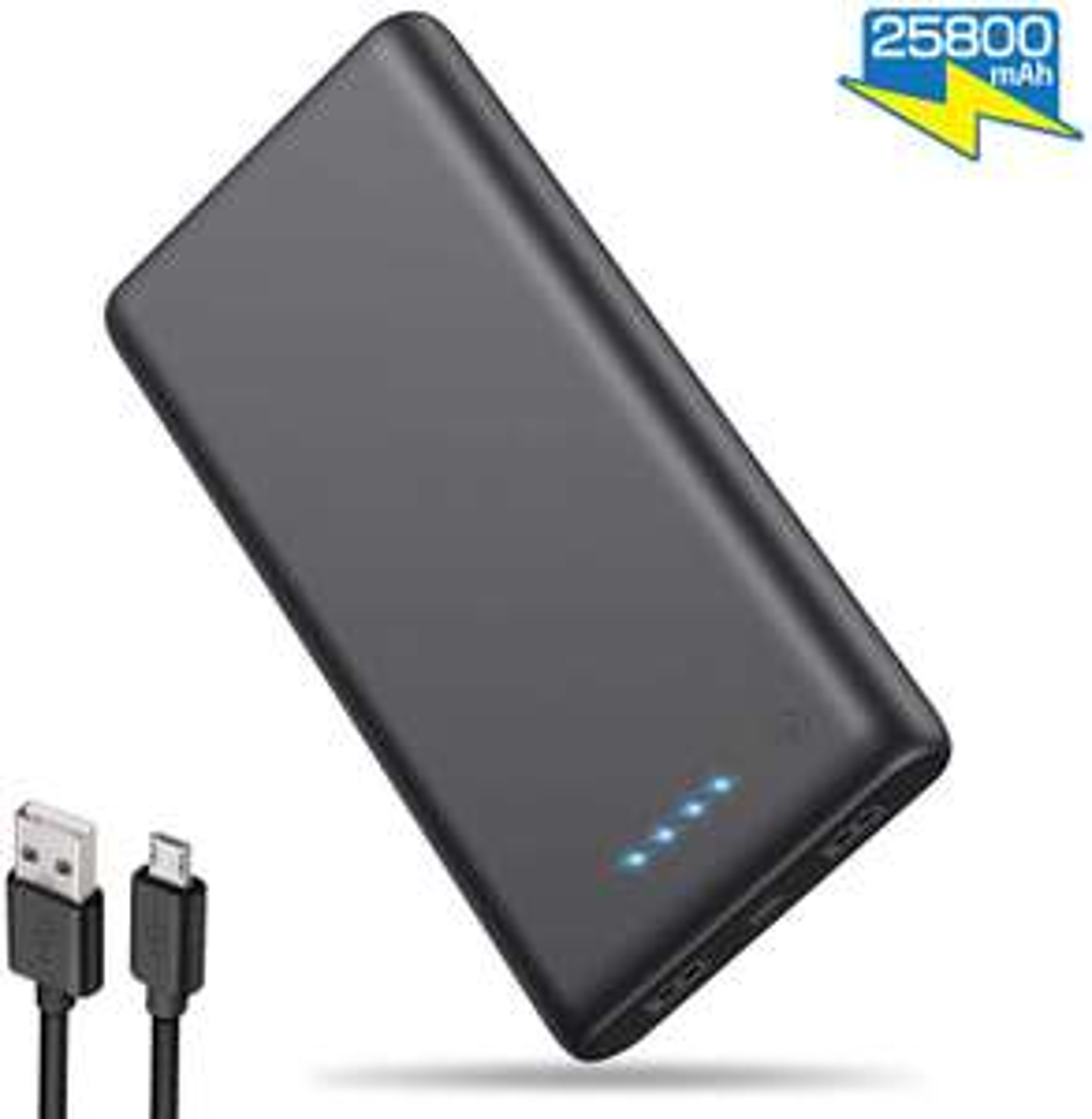 Power Bank 25800 mAh 2 USB