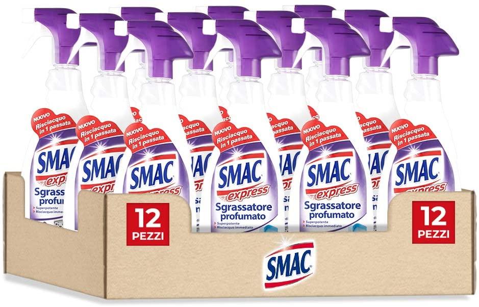 12x Smac - Sgrassatore Profumato Lavanda - 650ml