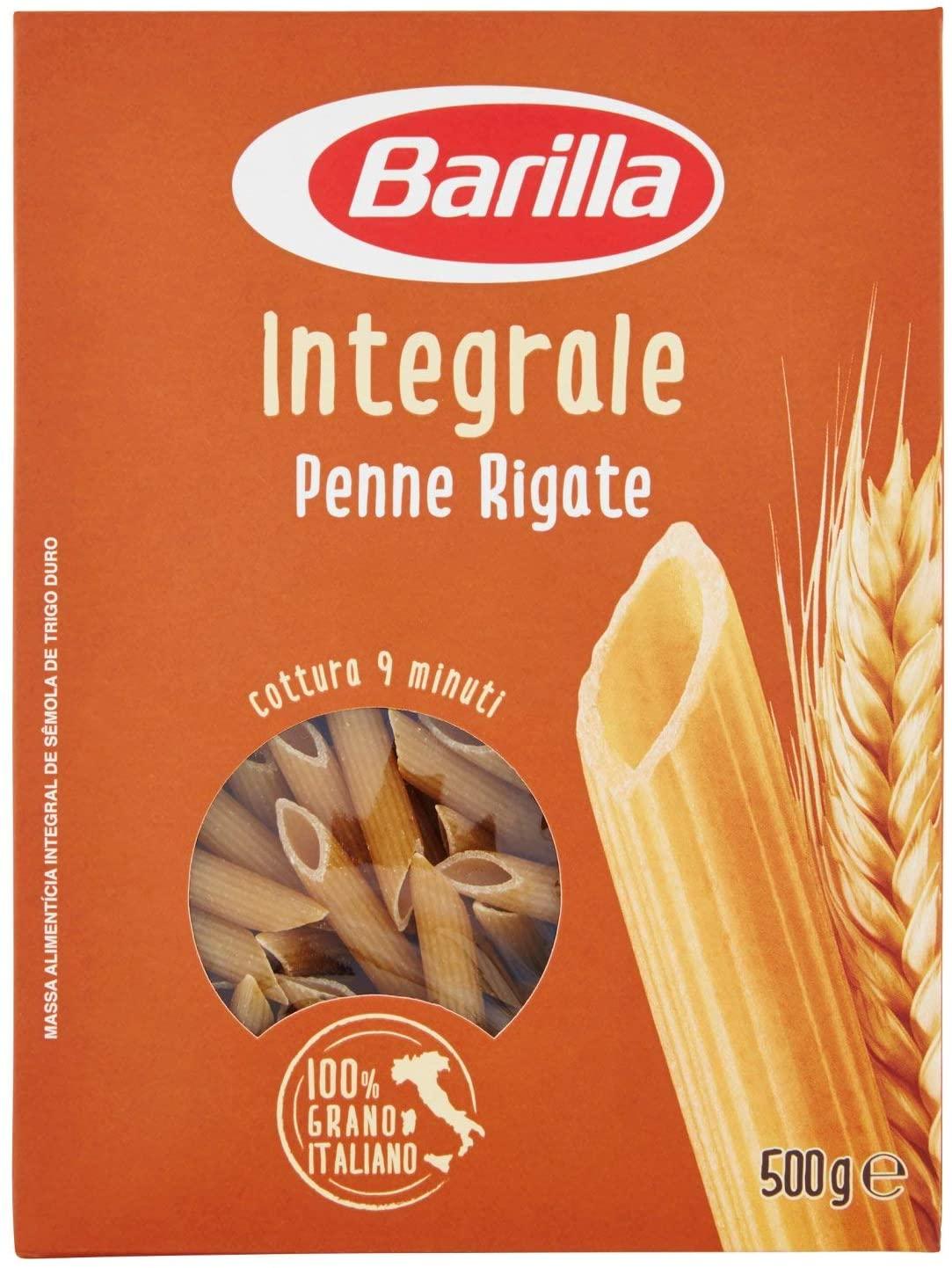 Barilla Penne Rigate Integrali - 500gr