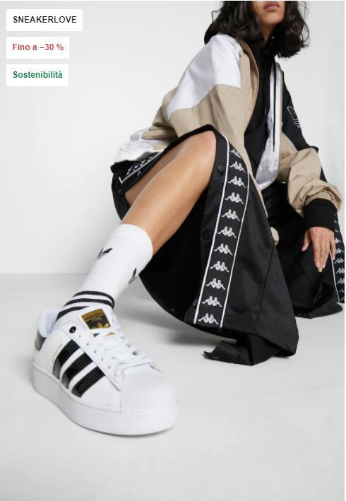 Adidas Originals SUPERSTAR BOLD - Sneakers basse
