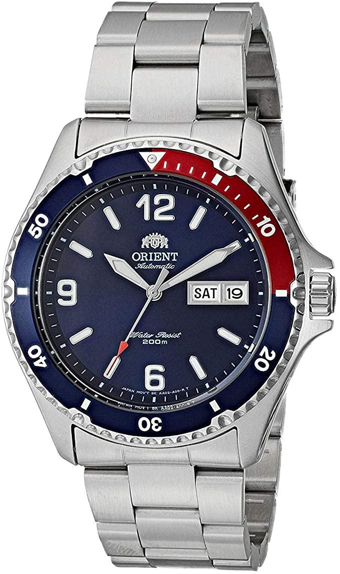 Orient Orologio Analogico Automatico con Cinturino in Acciaio Inox FAA02009D9