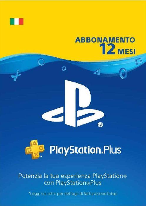 PLAYSTATION PLUS - Abbonamento 12 Mesi