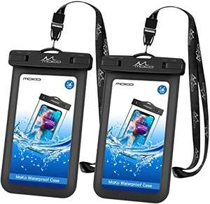 2 x Custodia impermeabile per smartphone
