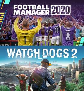 Football Manager 2020 +Watch dogs 2 GRATIS