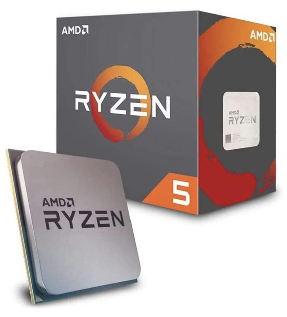 Processore CPU per computer AMD Ryzen 5 2600x