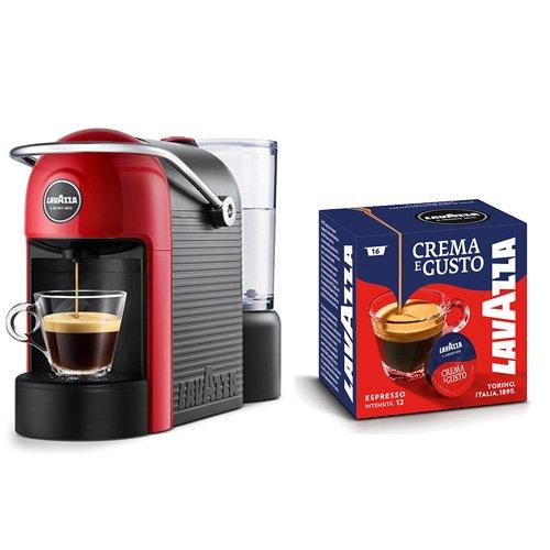Macchina caffè Lavazza Caffè Jolie 1250 W + 64 Capsule Crema e Gusto