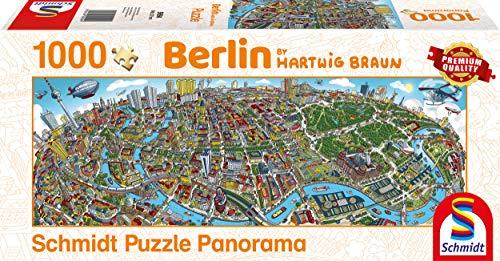 Schmidt Spiele 59594 - Puzzle da 1000 pezzi, soggetto Berlino