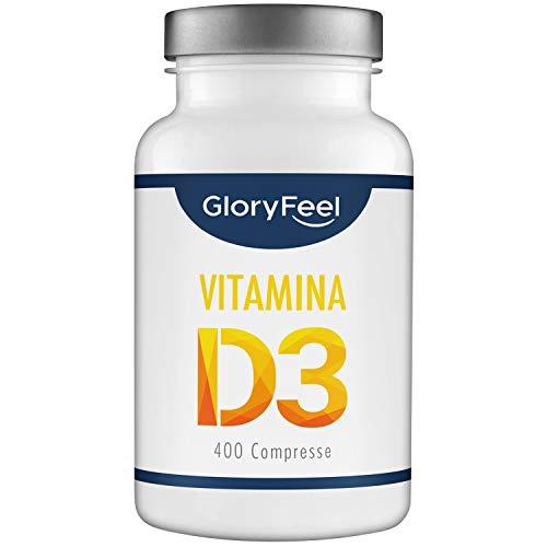 Integratore Vitamina D - 400 Compresse