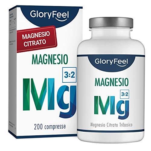 200 capsule di Magnesio Citrato Premium
