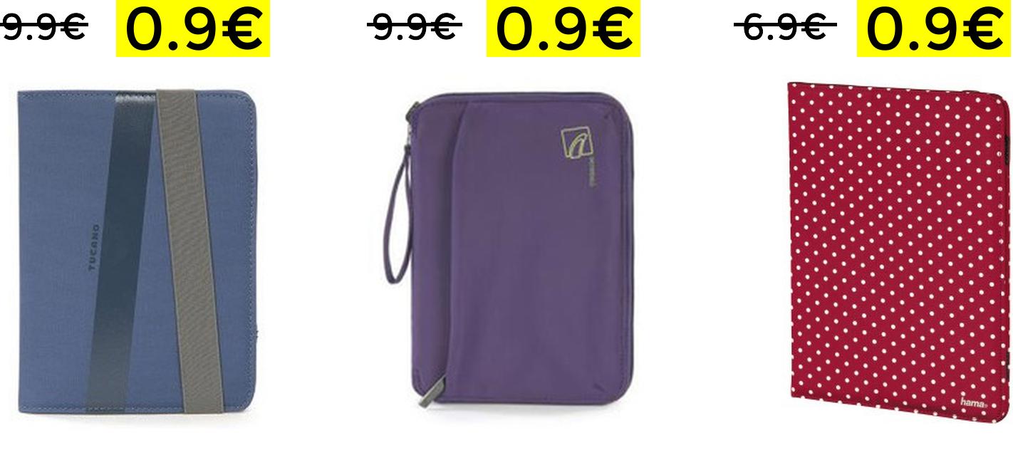 Selezione accessori Tablet & eBook 0.9€