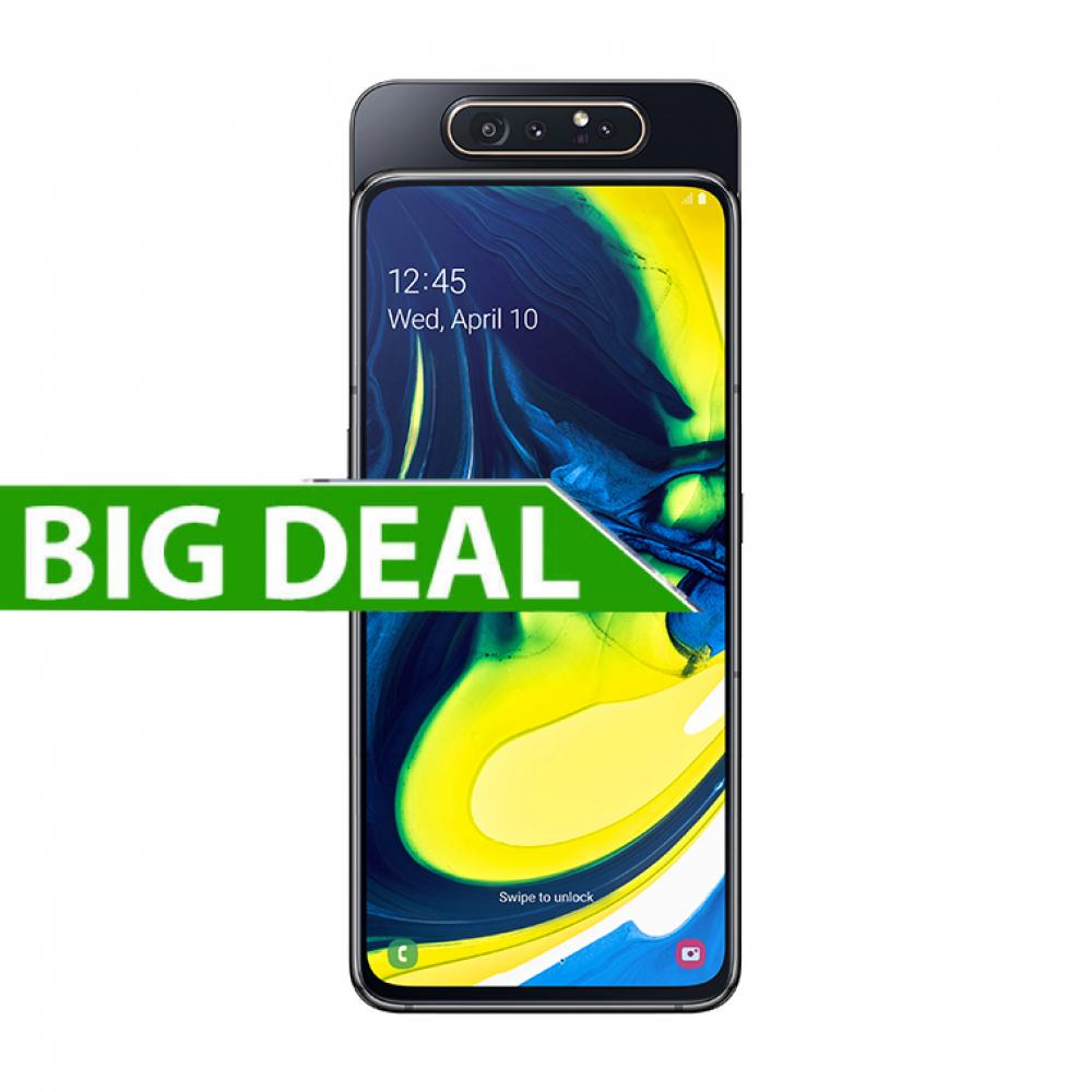Samsung Galaxy A80 128 GB Nero - TimRetail