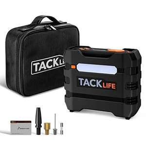 TackLife - Compressore Portatile + Accessori