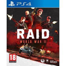 HALIFAX - RAID WORLD WAR II PS4 -