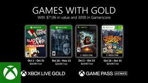 Xbox Games with Gold - Ottobre 2020 : Slayaway Camp: Butcher's Cut , Maid of Sker , Sphinx and the Cursed Mummy & Costume Quest