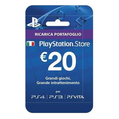 PlayStation Carda da 20€ a soli 10€