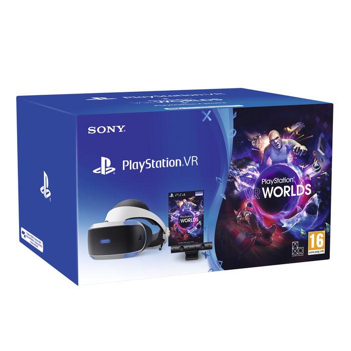 SONY PlayStation VR + PS Camera + VR Worlds Voucher