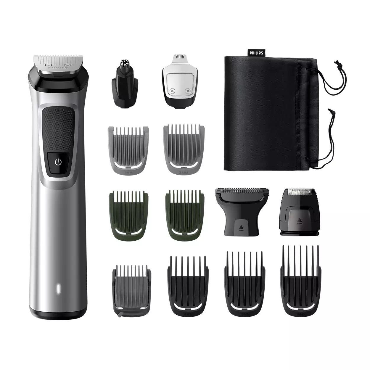 Philips Multigroom MG7720/15 14 in 1, Barba, capelli e corpo