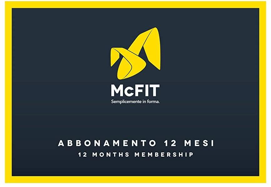 Centri Fitness McFIT Italia - Abbonamento Annuale