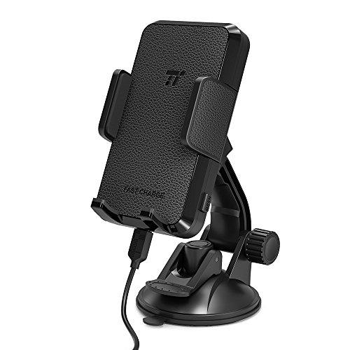 Taotronics - Caricatore Wireless per Auto 10W