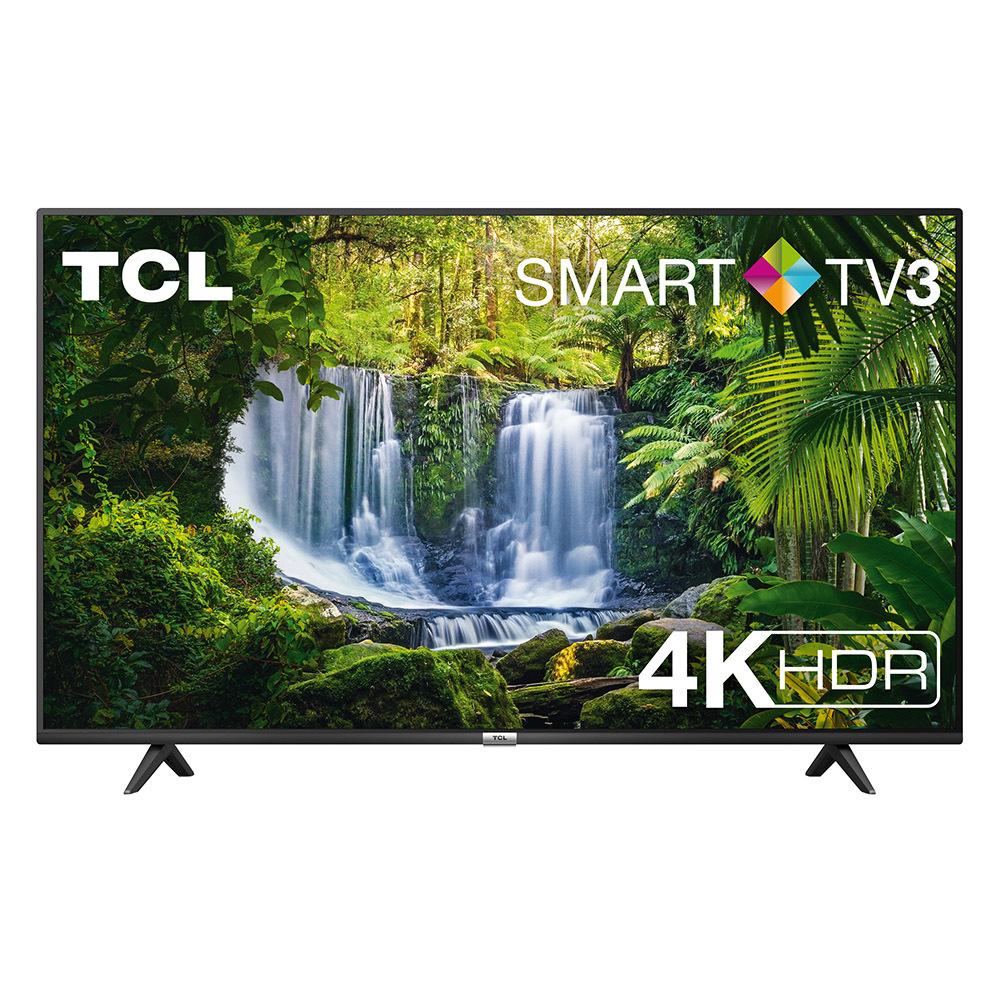 "Smart TV TCL 55"" 4K HDR Flat 286€"