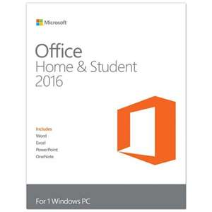 Microsoft - Office 2016 Home And Student Full Retail 1 Pc - Product Key Card