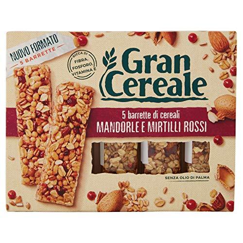 Gran Cereale - Snack Barrette 4 Cereali Mandorle e Mirtilli Rossi