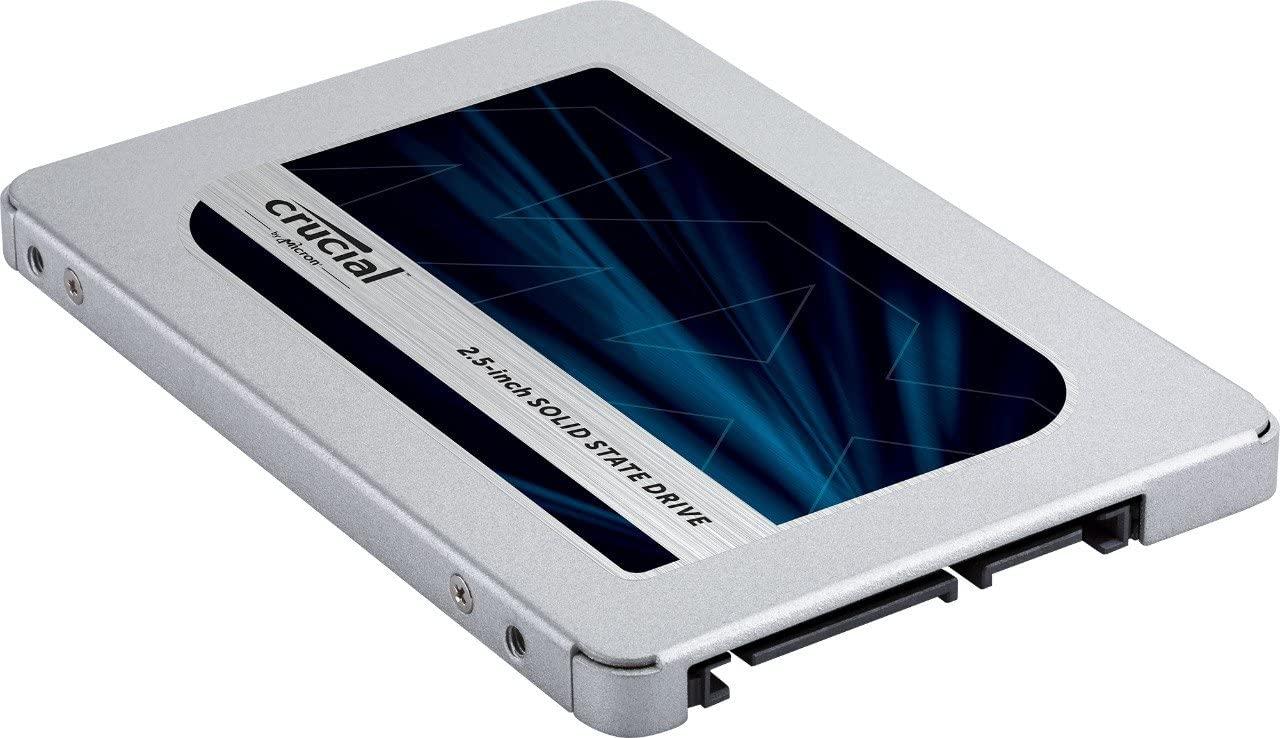 Crucial MX500 500GB CT500MX500SSD1(Z) fino a 560 MB/s, SSD Interno, 3D NAND, SATA, 2.5 Pollici