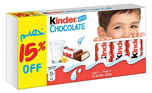 Kinder Cioccolato - 16 Pezzi