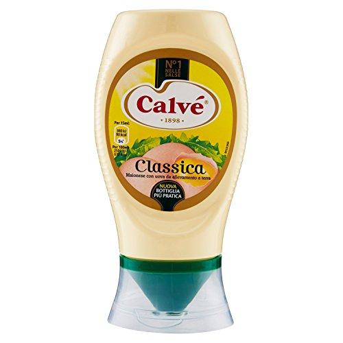 Calvé - Classica, Maionese con uova da allevamento a terra - 250 ml