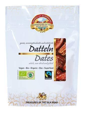 Datteri biologici snocciolati Fairtrade 700g BIO cibo crudo raw 7x100g