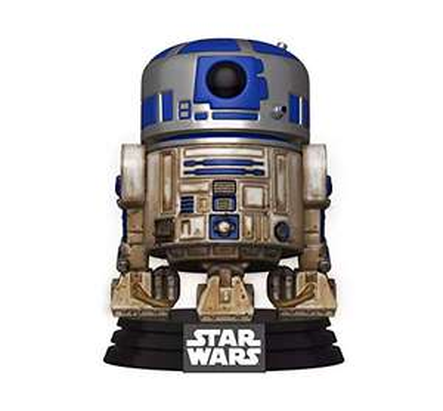 Funko- Pop Star Wars-Dagobah R2-D2