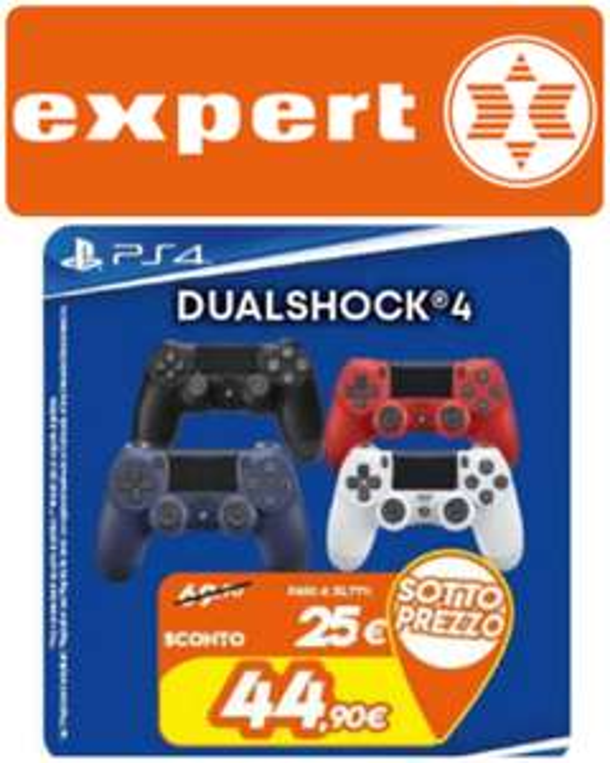 Expert: DualShock PlayStation 4 - Vari Colori