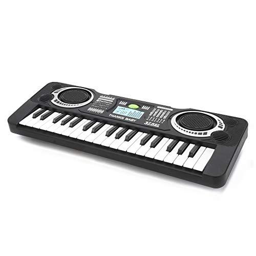 Tastiera musicale, Ajcoflt organo elettronico portatile, pianoforte musicale, organo elettronico musicale per bambini