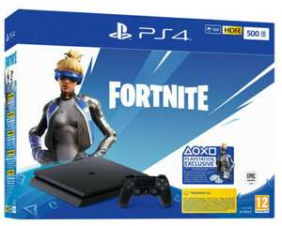 PS4 500GB +Fortnite Voucher 189€