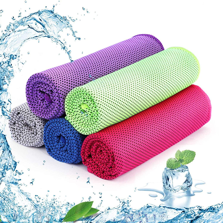 Set di 5 asciugamani rinfrescante SKL Ice Cold