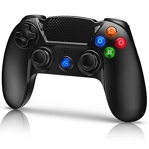 Gamory Controller Wireless per PS4 PS3 Touch Panel con Vibrazione