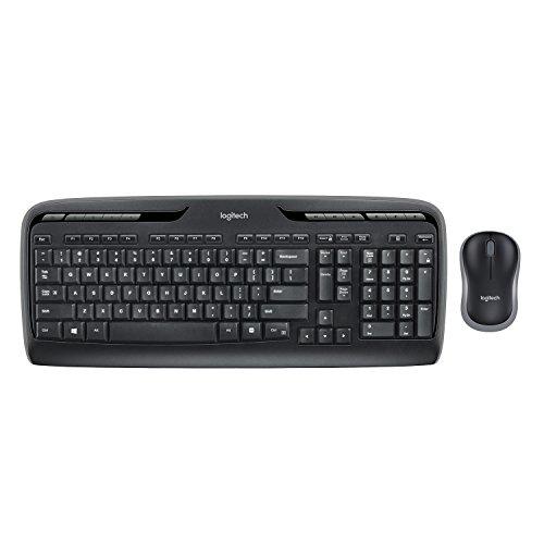 Logitech MK330 Kit Tastiera e Mouse Wireless Ricondizionato Layout Francese