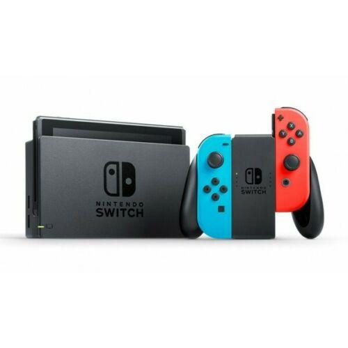 Nintendo Switch Blu/Rosso Neon (ed. 2017). RICONDIZIONATA