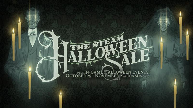 Saldi Halloween di steam