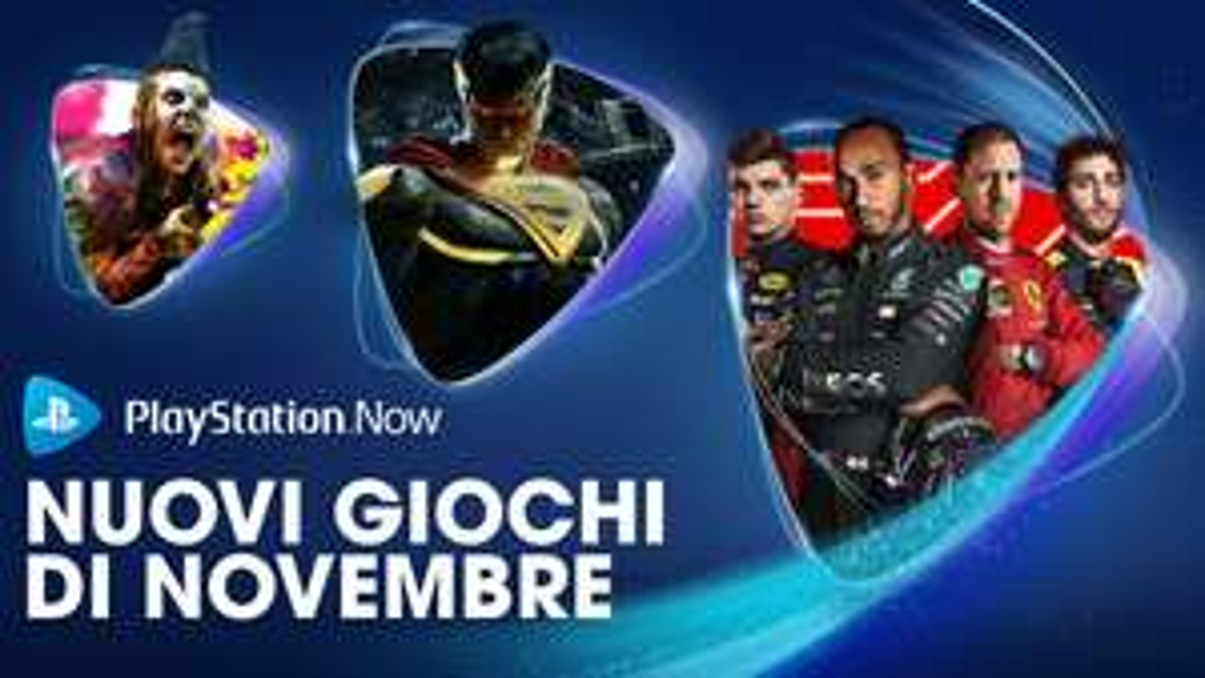PLAYSTATION NOW - Giochi Novembre 2020 : F1 2020 , Injustice 2 e Rage 2