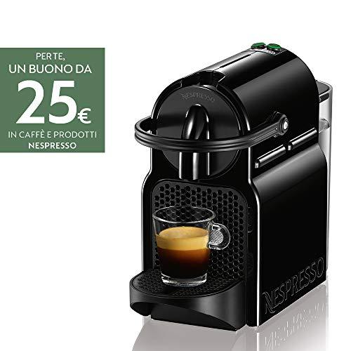 Nespresso Inissia Macchina per caffè Espresso, 1260 W, 0.7L, Nero (Black)
