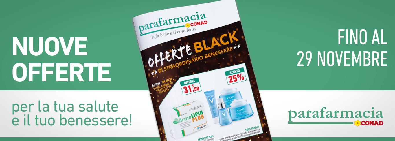 Farmaci scontati dal 15% al 40% rispetto al listino in vigore presso le Parafarmacie Conad