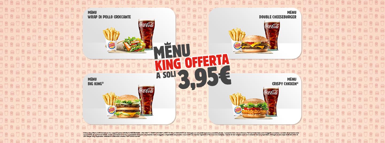 Burger King - Sconti e promozioni